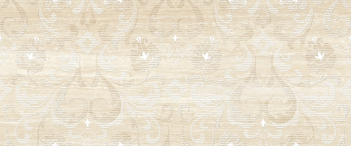 Lotus  beige decor 01 250х600